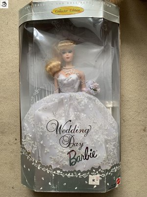 九州動漫芭比 Barbie wedding day 復刻 婚紗新娘 珍藏版 現貨