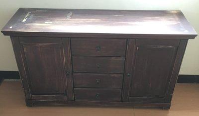 #誠可議# 二手 木質 仿古 古典 櫃 櫥櫃 展示櫃 置物櫃 收納櫃#買家自行搬運取貨#