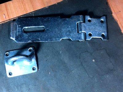 【懷舊。門扣】早期大型絞鏈門扣