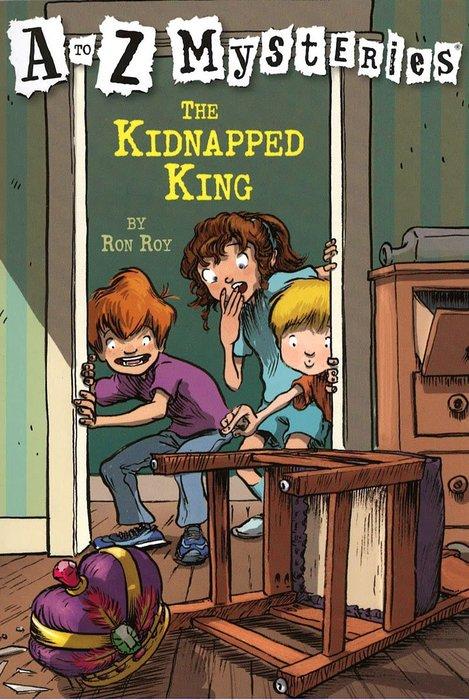 *小貝比的家*THE KIDNAPPED KING #K/平裝/7~12歲