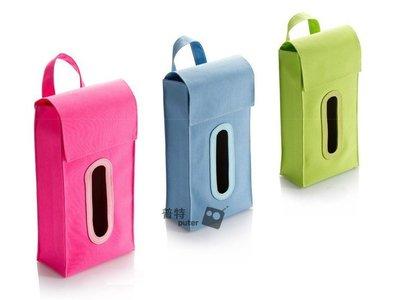 普特車旅精品【CZ0086】車用可掛式面紙盒套 面紙套 面紙收納盒 隨機出貨
