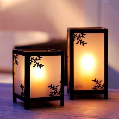 歐式復古懷舊鐵藝玻璃燭台創意風燈 浪漫婚慶酒店餐桌裝飾品擺件