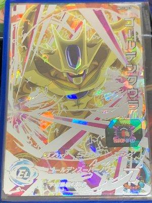 [台版]七龍珠機台卡片 Super Dragon Ball Heroes 第二彈 UMT2-SEC2 黃金庫拉