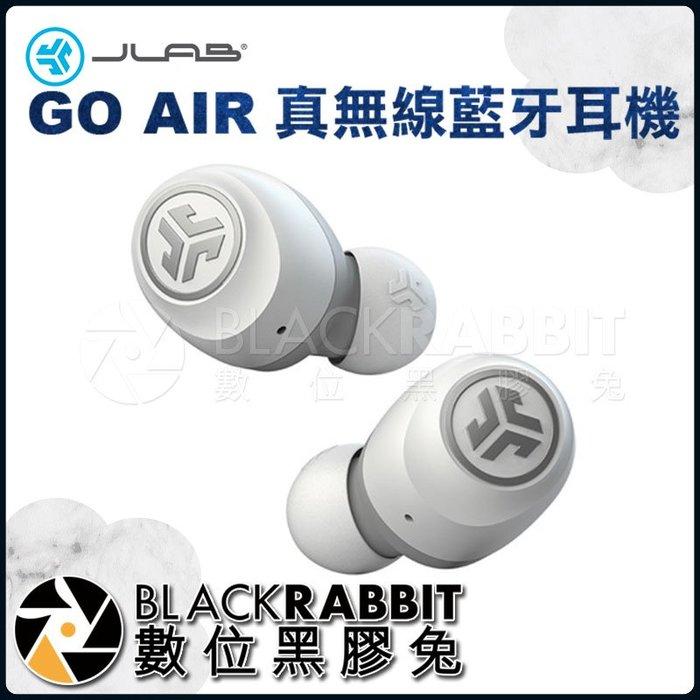 數位黑膠兔【 JLab GO AIR 真無線藍牙耳機 白色 】 高音質 音樂 降噪 高續航 全觸控 支援單耳