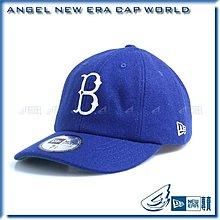 NEW ERA【ANGEL SHOP】MLB 日本限定 街頭時尚風 彎帽 老帽 古著 布魯克林 道奇 八片帽 限量