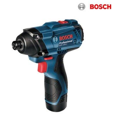 【含稅店】德國BOSCH博世 2.0Ah單鋰電 GDR 120-LI 12V衝擊起子機 扳手機 電動起子機 升級版