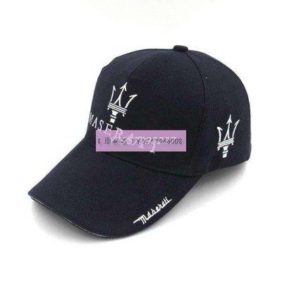 Maserati 瑪莎拉蒂F新1賽車帽  機車帽新 高爾夫棒球帽 太陽帽 遮陽帽 網球帽 車隊帽子 瑪邁凱輪車隊賽車帽車迷帽5 5NK01