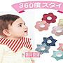 寶貝倉庫- 日款- 嬰兒360度旋轉防水圍兜- 寶寶...