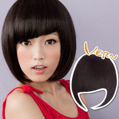 韋恩瀏海片-斜齊瀏海-獨家設計假髮髮片-歐美時尚-日本仿真髮絲假髮片(3色可選)Vernhair【VH11502】