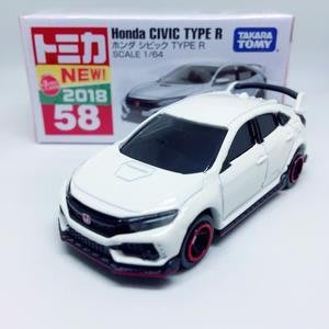 日本 TOMICA Honda CIVIC TYPE R