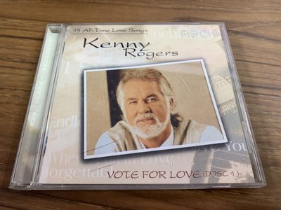 ◎MWM◎【二手CD】Kenny Rogers- Vote For Love 無歌詞