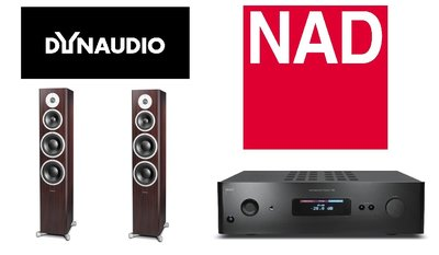 DYNAUDIO X38 搭配 NAD C388網路串流數位擴大機 超美聲超級超值組合 台北音響店 勁迪音響瘋狂熱銷