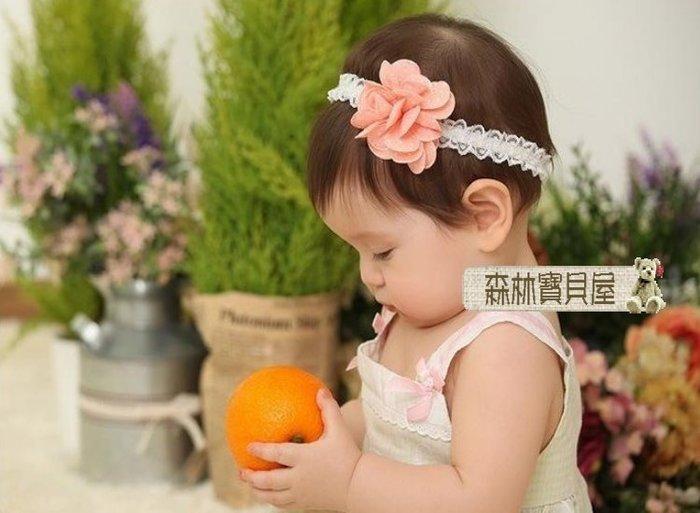 森林寶貝屋~韓款~寶寶可愛點點立體髮飾~幼兒立體小花髮帶~嬰兒髮飾~兒童頭帶~娃娃髮飾~髮箍~拍照必備~3色發售