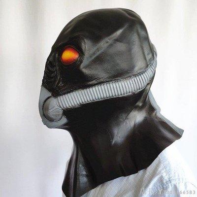 新品上新 免運 新恐怖異形乳膠氧氣罩外星人面具黑鬼頭套萬圣節舞會面罩演出裝扮面具頭套充氣服裝萬圣節道具萬圣節Hallow