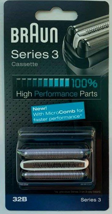 ✨德國製✨ 百靈 BRAUN  刀頭刀網 32B 32S 3系列專用 電動刮鬍刀