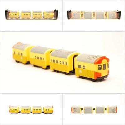 【喵喵模型坊】TOUCH RAIL 鐵支路 Q版 台鐵EMU100小列車 (QV002T1)