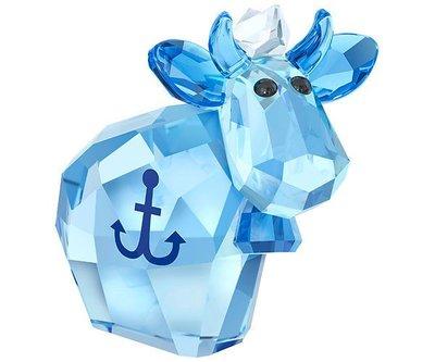 甯@全新專櫃正品 SWAROVSKI 施華洛世奇 2017限定 Sailor Mo  牛 水晶塑像