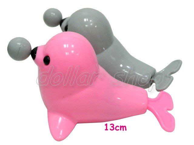 寶貝玩具屋二館☆【寶寶】歡樂游水小海豹拉線洗澡玩具(可愛QQ海豹寶寶洗澡拉線玩具)