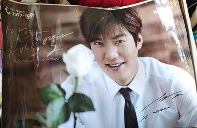 李敏鎬巨幅海報?關於李敏鎬, 你可能不知道的事?永遠的君主 韓國男星海報