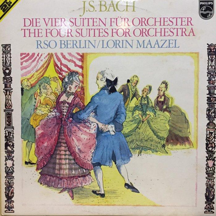 §小宋唱片§ 荷蘭版/巴哈:第一號組曲BWV1066/馬捷爾/柏林廣播交響樂團/二手古典黑膠