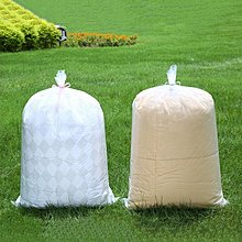 ☜男神閣☞大袋子裝被子收納袋防水防潮家用衣物整理袋防塵打包袋透明塑料袋