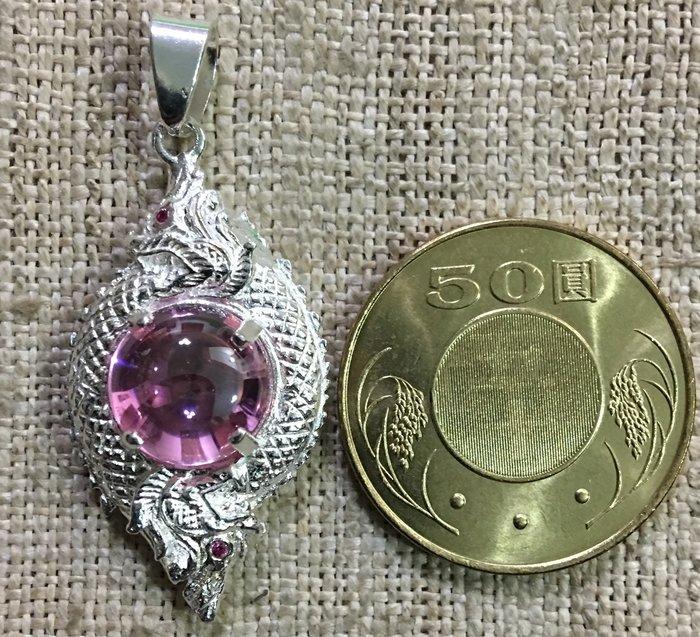 ~如是P868水龍珠(純銀檯)又稱天界寶石