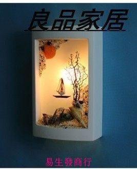 【易生發商行】海洋風現代簡約石膏壁燈 ...