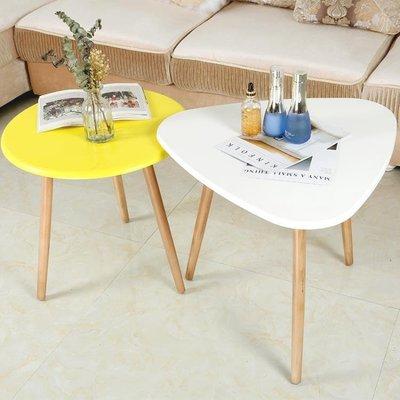 小圓桌茶幾簡約現代客廳邊幾簡易圓桌北歐創意小戶型ins風組合小桌子