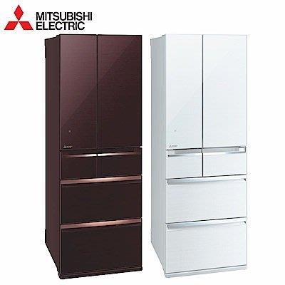 MITSUBISHI三菱六門 525公升日原裝變頻冰箱 MR-WX53C 另有NR-F506HX NR-F556HX
