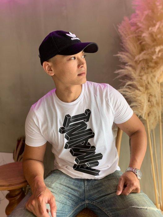 【蟹老闆】AX Armani Exchange 男短袖 橫書立體文字 白色