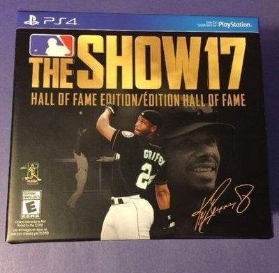 PS4 MLB The Show 17 Hall of Fame Edition 美版 名人堂版
