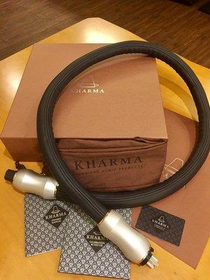 最新款~荷蘭精品Kharma Exquisite 頂級純銀電源線....特價中!