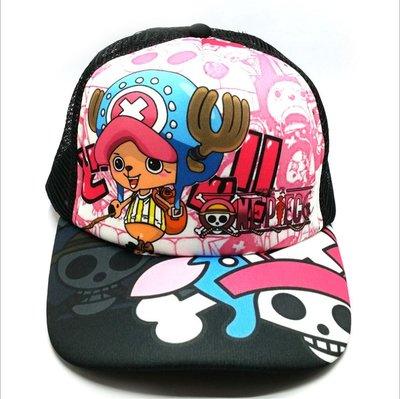 動漫海賊王帽子路飛鴨舌棒球帽火影忍者遮陽網帽卡通太陽嘻哈帽