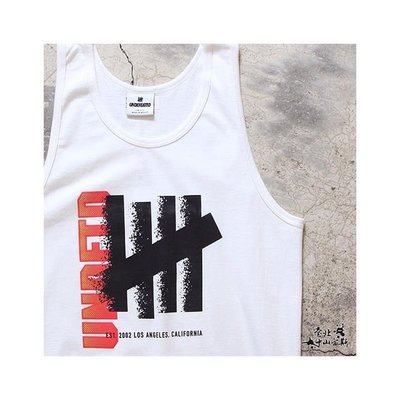 ☆AirRoom☆【現貨】UNDEFEATED DISPERSE TANK 黑 白 背心 5930723