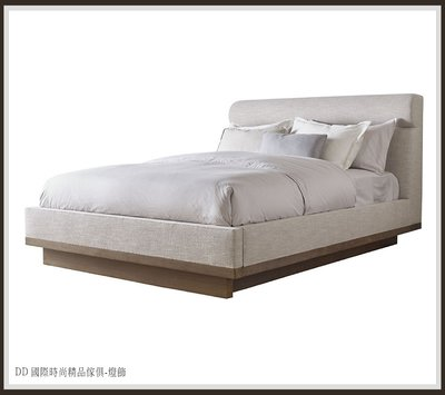 DD 國際時尚精品傢俱-燈飾 Baker Panorama Platform Bed(復刻版)訂製 床檯