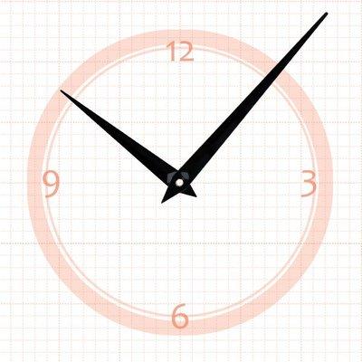 【鐘點站】J120080 SKP機芯專用 簡約指針 / 分針120mm 時針80mm / DIY 時鐘 掛鐘 鐘針