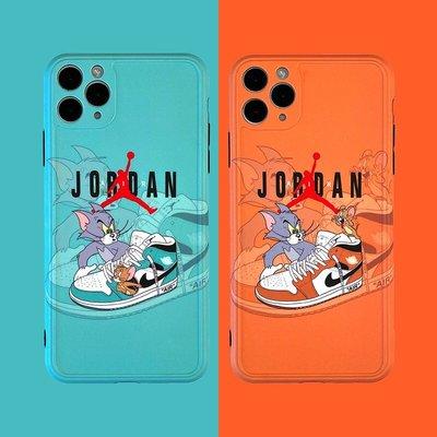 【iphone12手機殼】卡通造型手機保護套 迪士尼 湯姆貓與傑利鼠 卡通造型 軟殼 防摔 保護 蘋果手機殼 潮牌手機殼