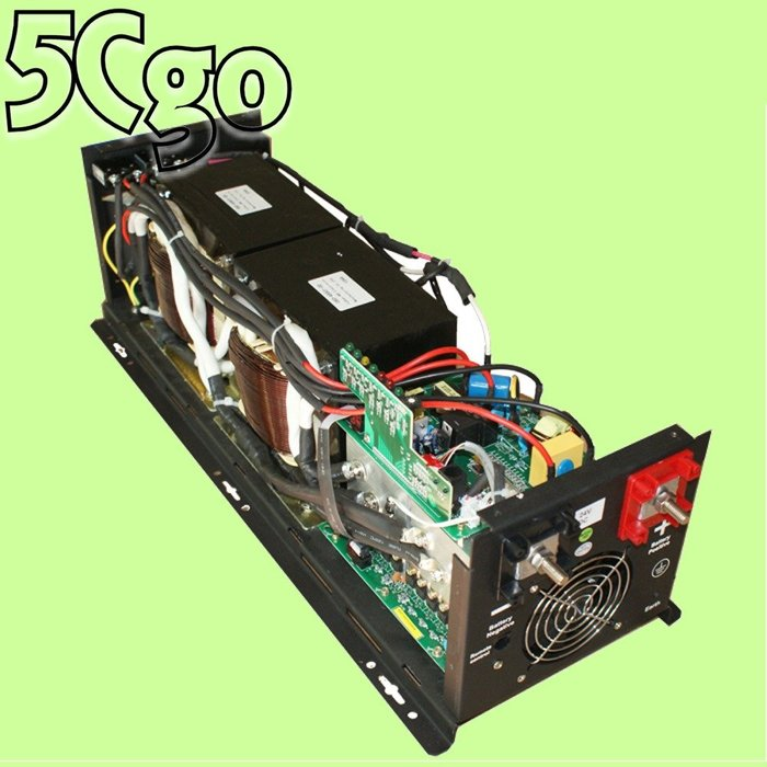 5Cgo【代購】工頻一體機逆變壓器純正弦波充電家庭工業太陽能轉換大功率6000W閒置時過載短路自動斷電另8000W 含稅