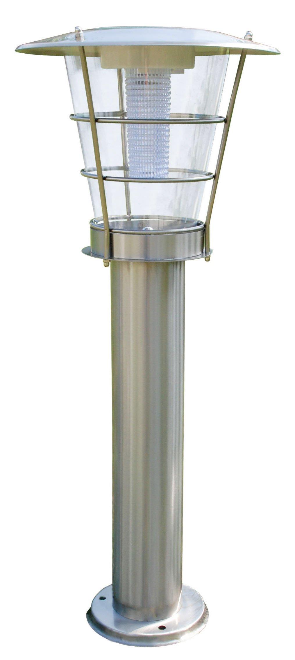 零電費太陽能庭院燈 LED 不鏽鋼(固定型)