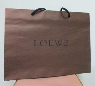 ~LOEWE 横式 紙袋/提袋 42x31x10cm~