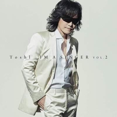 特價預購 Toshi Toshl IM A SINGER VOL.2 (日版通常盤CD) 最新2019航空版