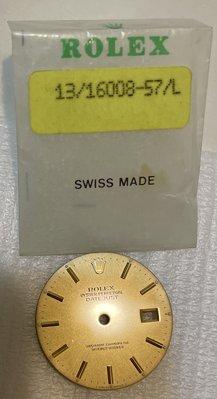 庫存品!品相極美!勞力士 Rolex 原廠 16233面盤