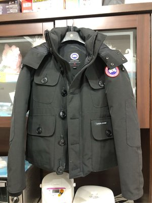 canada goose russell parka XS號黑色