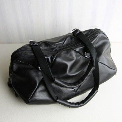 手提 包 真皮肩背包-柔軟羊皮大容量黑色女包包73uy2[獨家進口][巴黎精品]