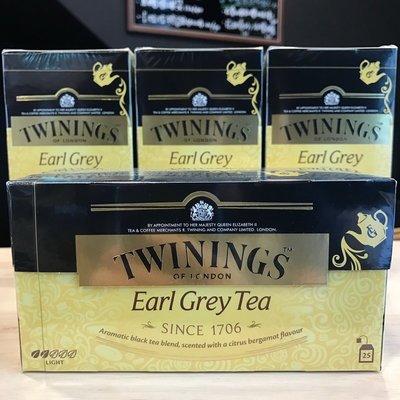 *卡拉拉咖啡精品*英國 TWININGS 唐寧茶 皇家伯爵茶 ( 2g×25入 )
