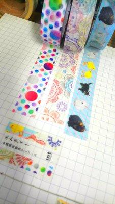【R的雜貨舖】紙膠帶分裝(非整捲) 日本mt和紙膠帶 台灣限定款A組 1單位=100cm