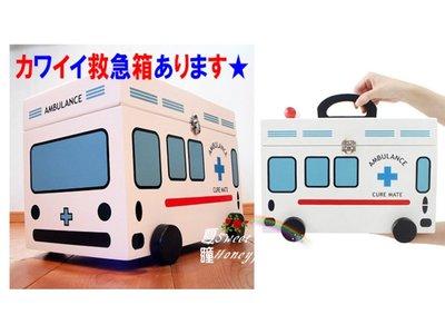 夏瞳✿ zakka鄉村雜貨✿✿♡ ╰☆精緻白色木製救護車 急救箱 醫藥箱☆╮日本帶回.特大台
