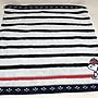 日本 史努比 條紋系列 小方巾/ 手帕...