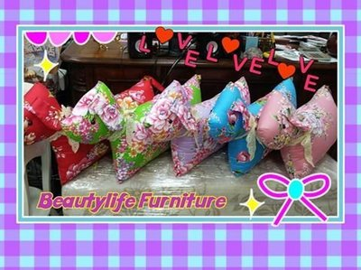 美生活館---鄉村 Zakka 客家台灣紅紫藍綠/玫瑰 狗 大象 豬 造型 抱枕 腰枕 沙發枕 午安枕 公主床 貴妃椅