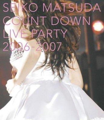 日版全新 --- 松田聖子 SEIKO MATSUDA COUNT DOWN LIVE PARTY 2006-2007